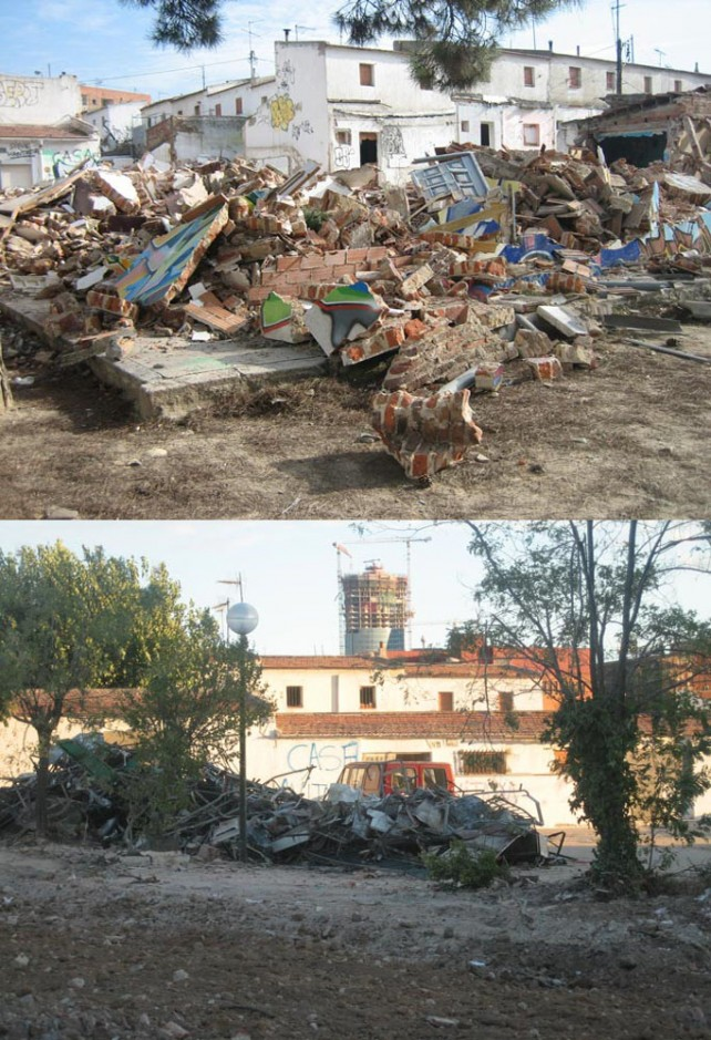 Poblado B_demolición