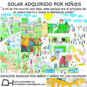 Solar adquirido por niñ@s - Otro Hábitat
