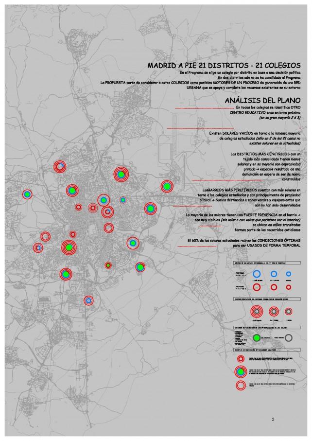 Plano análisis entorno 21 colegios